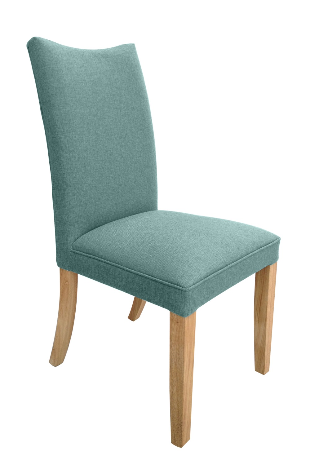 Fabric Dining Chairs Teal village green fabric dining chair range