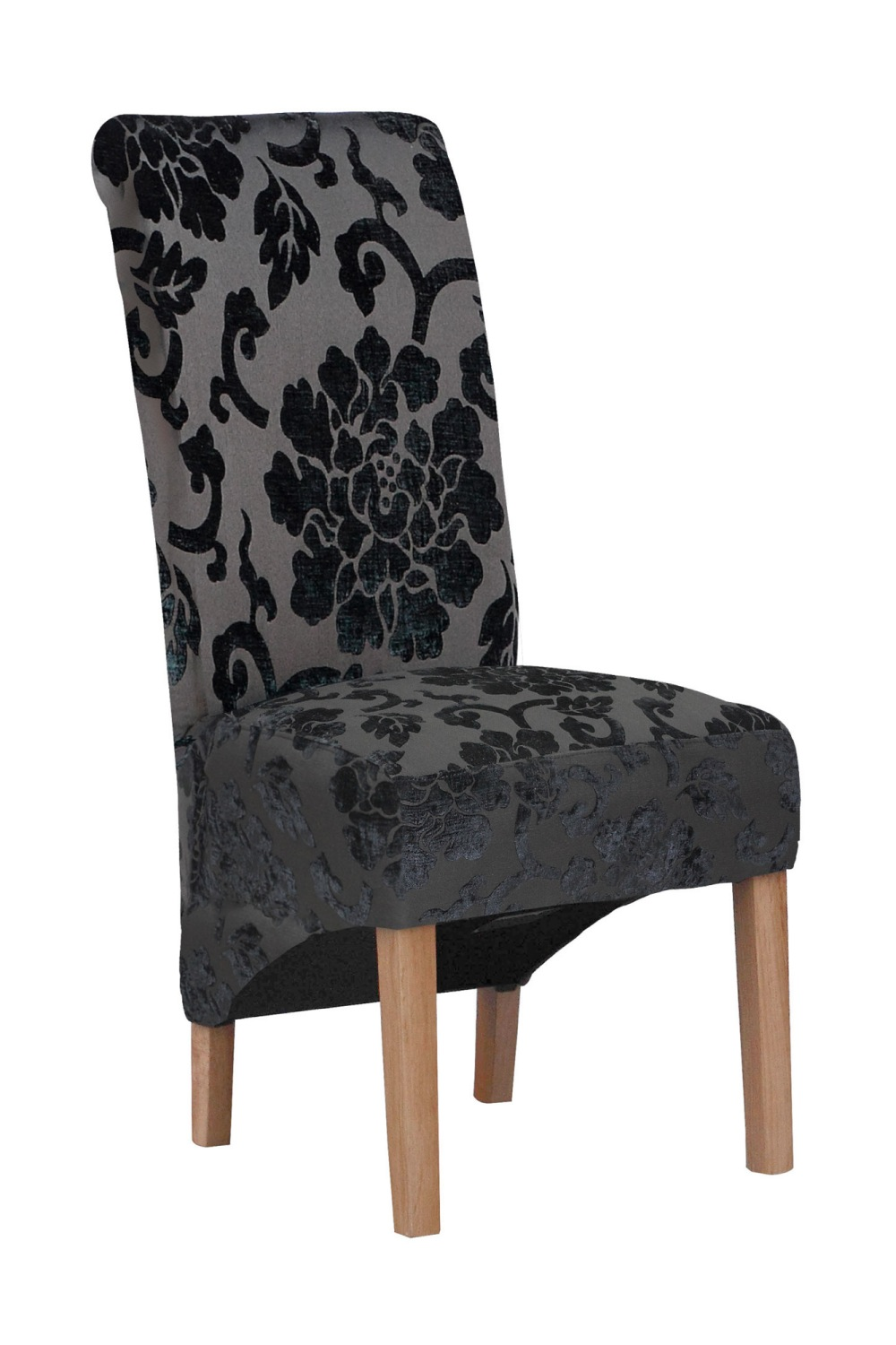 village green krista baroque leather chair